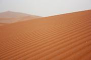 Sahara Desert Landscape Photographed at Erg Chebbi, Morocco, Africa