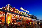 Amusement ride at the boardwalk, Ocean City, New Jersey, USA