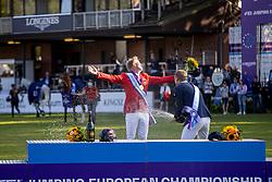 Thieme Andre, GER, Fredricson Peder, SWE<br /> European Championship Riesenbeck 2021<br /> © Hippo Foto - Dirk Caremans<br /> 05/09/2021
