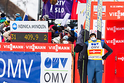 Severin Freund of Germany waiting for jump result during the Ski Flying Individual Competition at Day 4 of FIS World Cup Ski Jumping Final, on March 22, 2015 in Planica, Slovenia. Photo by Ziga Zupan / Sportida