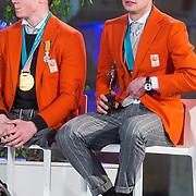 NLD/Den Haag/20180323 - Huldiging Olympische en Paralympische medaillewinnaars,  Jeroen Kampscheer, Sven Kramer