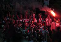 Photo. Jed Wee.<br /> Poland v England, World Cup Qualifier, Stadion Slaski, 08/09/2004.<br /> Polish fans.<br /> <br /> NORWAY ONLY