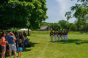 Fort Meigs Independence Day 1813. Fort Meigs Historic Site in Perrysburg, Ohio.