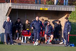 Cowdenbeath's manager Gary Bollan. Broxburn Athletic FC 3 v 0 Cowdenbeath, William Hill Scottish Cup 2nd Round replay played 26/10/2019 at Albyn Park, Greendykes Road, Broxburn.