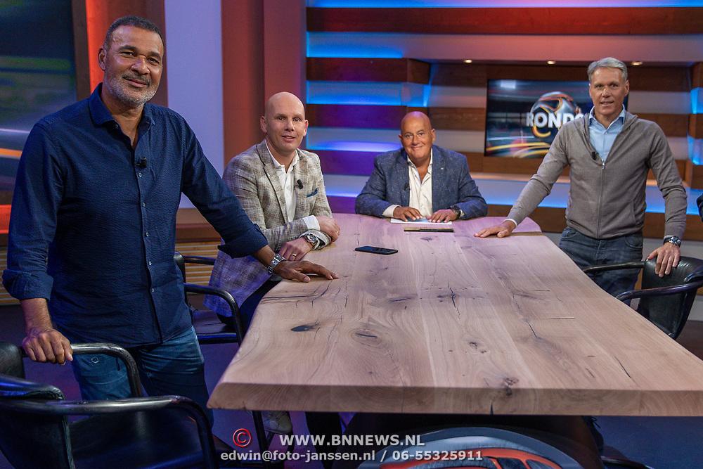 NLD/Blorndaal/20200705 - Rondo opname, Ruud Gullit, Jan van Halst ,Jack van Gelder, Marco van Basten en Youri Mulder