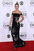 JULIANNE HOUGH at  the People's Choice Awards 2016 held at the ©Exclusivepix Media
