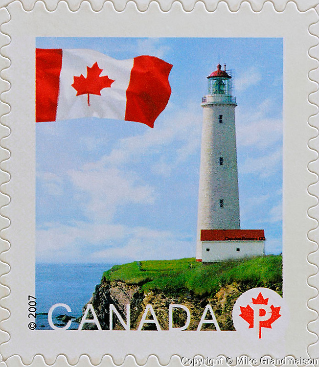 PRODUCT: Postage Stamp<br /> TITLE: Lighthouse Series<br /> CLIENT: Canada Post
