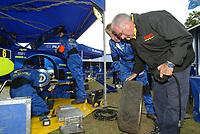 Motor<br /> WRC 2005<br /> Rally Tyskland<br /> 25-28.08.2005<br /> Foto: Dppi/Digitalsport<br /> NORWAY ONLY<br /> <br /> TEAM SUBARU<br /> TEAM PIRELLI AMBIANCE SERVICE PARK ASSISTANCE TYRE TYRES