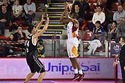 DESCRIZIONE : Roma Lega A 2014-15 Acea Roma Granarolo Bologna<br /> GIOCATORE : Kyle Gibson<br /> CATEGORIA : tiro controcampo sequenza<br /> SQUADRA : Acea Roma<br /> EVENTO : Campionato Lega A 2014-2015<br /> GARA : Acea Roma Granarolo Bologna<br /> DATA : 04/01/2015<br /> SPORT : Pallacanestro <br /> AUTORE : Agenzia Ciamillo-Castoria/GiulioCiamillo<br /> Galleria : Lega Basket A 2014-2015<br /> Fotonotizia : Roma Lega A 2014-15 Acea Roma Granarolo Bologna