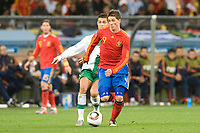 FOOTBALL - FIFA WORLD CUP 2010 - 1/8 FINAL - SPAIN v PORTUGAL - 29/06/2010 - PHOTO GUY JEFFROY / DPPI - FERNANDO TORRES (SPA) / CRISTIANO RONALDO (POR)