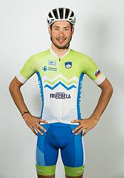 Nik Cemazar during photo session of Slovenian Cycling Team for 2018 UCI Road World Championships Innsbruck, on September 17, in Spodnji Brnik, Slovenia. Photo by Vid Ponikvar / Sportida