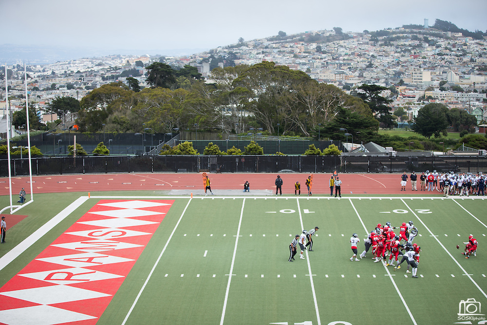 Community College of San Francisco takes on College of Siskiyous at Community College of San Francisco in San Francisco, Calif., on September 10, 2016. (Stan Olszewski/Special to S.F. Examiner)