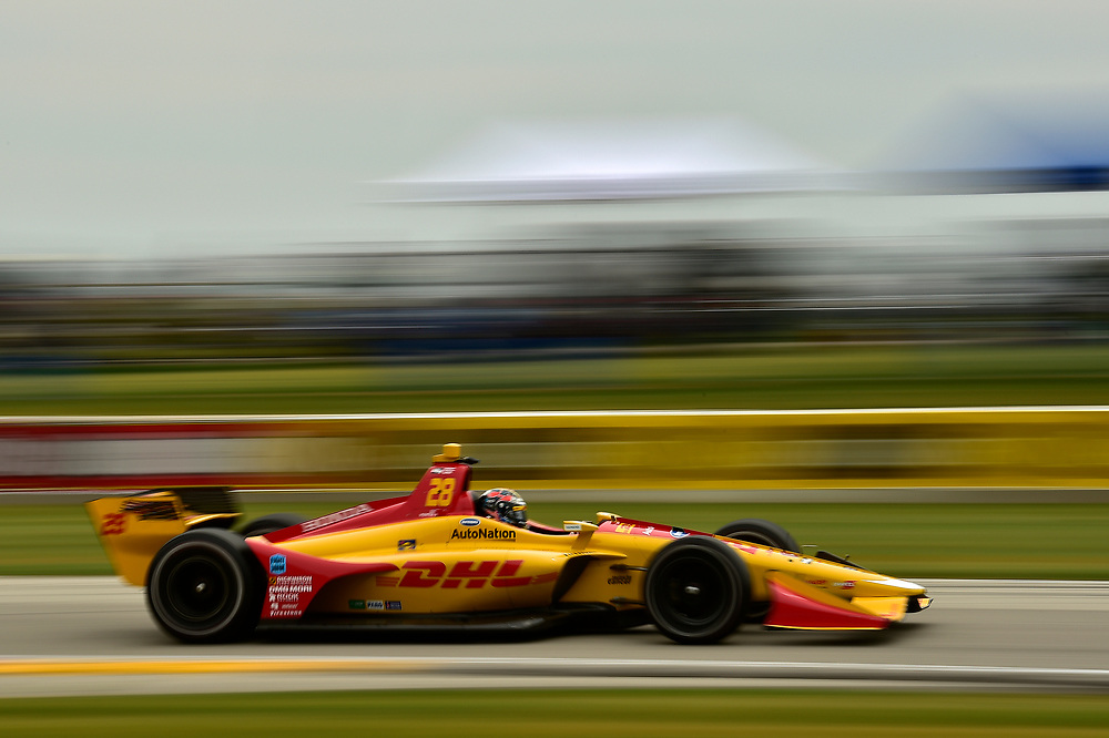 Ryan Hunter-Reay, Andretti Autosport Honda<br /> Friday 22 June 2018<br /> KOHLER Grand Prix at Road America<br /> Verizon IndyCar Series<br /> Road America WI USA<br /> World Copyright: Scott R LePage