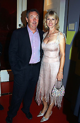 Musician NICK MASON and his wife NETTE at the 60th birthday party for Chris Wright held at Sketch, Conduit Street, London W1 on 7th September 2004.