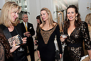EUGENIE HANMER; PIPPA VOSPER; NATALIE MOUNTACK, Harper's Bazaar Women Of the Year Awards 2011. Claridges. Brook St. London. 8 November 2011. <br /> <br />  , -DO NOT ARCHIVE-© Copyright Photograph by Dafydd Jones. 248 Clapham Rd. London SW9 0PZ. Tel 0207 820 0771. www.dafjones.com.