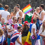 NLD/Amsterdam/20180604 - Gaypride 2018, Eurovision boot