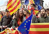 Catalonia Rally London 29th October 2017