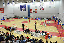 A general view as Bristol Flyers play Surrey Scorchers at SGS Wise Campus - Mandatory byline: Dougie Allward/JMP - 07966 386802 - 19/09/2015 - BASKETBALL - SGS Wise Campus - Bristol, England - Bristol Flyers v Surrey Scorchers - British Basketball League