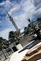 Kuala Lumpur's beautiful National Mosque.