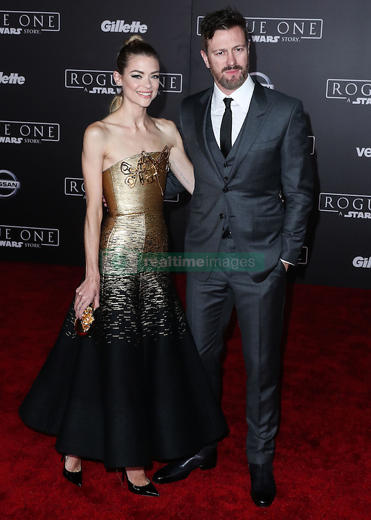 World Premiere Of Walt Disney Pictures And Lucasfilm's 'Rogue One: A Star Wars Story' at the Pantages Theatre on December 10, 2016 in Hollywood, California. 10 Dec 2016 Pictured: Jaime King, Kyle Newman. Photo credit: Image Press/MEGA TheMegaAgency.com +1 888 505 6342