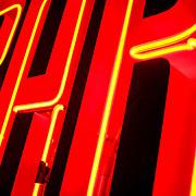 BAR neon light, Amsterdam, Netherlands (September 2006)