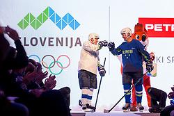 Benjamin Savsek and Tomaz Razingar at Official presentation of the Designer wear for Slovenian Athletes at PyeongChang Winter Olympic Games 2018, on December 19, 2017 in Grand Hotel Union, Ljubljana, Slovenia. Photo by Urban Urbanc / Sportida