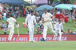 Pretoria 26-12-18. The 1st of three 5 day cricket Tests, South Africa vs Pakistan at SuperSport Park, Centurion. Day 1. Afternoon session. South African batsman Theunis de Bruyn crosses the wicket for 2 runs. <br /> Picture: Karen Sandison/African News Agency(ANA)