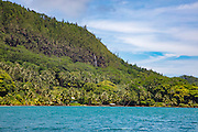Huahine, Waterfall,  Huahine-Nui, French Polynesia