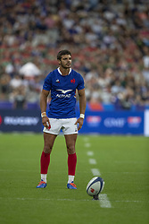 Romain NTAMACK in action during 2019 Rugby World Cup warm-up match France v Italy at Stade De France on August 30, 2019 in Paris, France. France won 47-19. Photo by Loic Baratoux/ABACAPRESS.COM