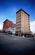 Downtown Butte, Montana.