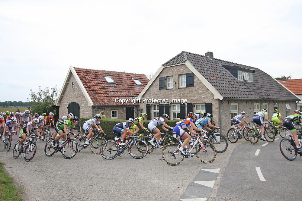 Boels Rental Ladiestour 2013 Zaltbommel-Veen Sfeerillustratie