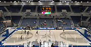 Sam Houston plays Westside in the first ever game at the new Delmar Fieldhouse, February 10, 2017.