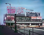 CH0043. Bill Haley and His Comets appearing June 11-12-13, 1955, at the Steel Pier, Atlantic City, New Jersey.