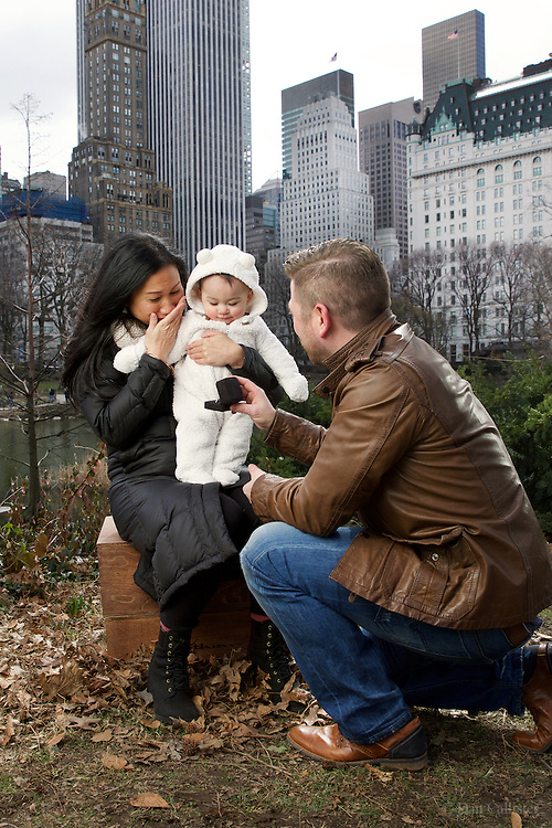 Photograph by © Dan Callister <br /> www.dancallister.com,<br /> Aido, Elze and Emily Grace March 04, 2017 during marriage proposal in Central Park, New York, USA<br /> [Exclusive]<br /> [ Pictures]<br /> **© DAN CALLISTER. FEE MUST BE AGREED BEFORE USAGE. NO WEB USAGE WITHOUT APPROVAL. ALL RIGHTS RESERVED** <br /> Tel: +1 347 649 1755<br /> Mob: +1 917 589 4976<br /> E-mail: dan@dancallister.com<br /> Web:  www.dancallister.com<br /> 3149 41st St, #3rd Floor, Astoria, NY 11103 USA<br /> Photograph by © DAN CALLISTER  www.dancallister.com