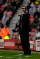 Photo: Jed Wee/Sportsbeat Images.<br /> Sunderland v Fulham. The FA Barclays Premiership. 27/10/2007.<br /> <br /> Fulham manager Lawrie Sanchez.