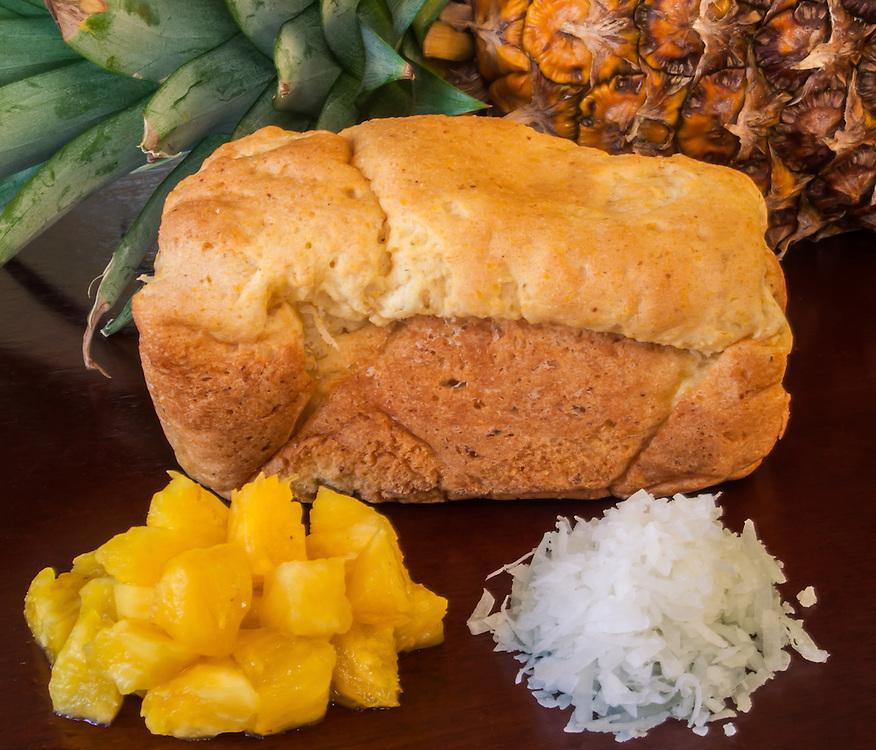 Hawaiian Sweet Bread with Pineapple & Coconut