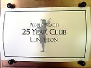 Pebble Beach 25 Year Club 2016
