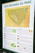 Interpretive sign at Parc de la Tete d'Or, Lyon, France (UNESCO World Heritage Site)
