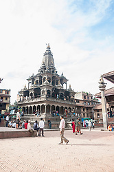 Durbar Square, temple scenery