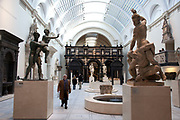 Medieval & Renaissance 1350-1600. The Victoria and Albert Museum aka the V&A at South Kensington, London. Known as the world's greatest museum of art and design, with collections unrivalled in their scope and diversity. Discover 3000 years' worth of amazing artefacts from many of the world's richest cultures including ceramics, furniture, fashion, glass, jewellery, metalwork, photographs, sculpture, textiles and paintings.