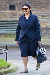 Downing Street, London, March 21st 2017. International Development Secretary Priti Patel attends the weekly cabinet meeting at 10 Downing Street.