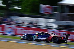 June 16, 2018 - Le Mans, Sarthe, France - Ford Chip Ganassi TEAM USA FORD GT Driver RYAN BRISCOE (AUS) in action during the 86th edition of the 24 hours of Le Mans 2nd round of the FIA World Endurance Championship at the Sarthe circuit at Le Mans - France (Credit Image: © Pierre Stevenin via ZUMA Wire)