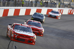April 20, 2018 - Richmond, Virginia, United States of America - April 20, 2018 - Richmond, Virginia, USA: Garrett Smithley (0) brings his race car down the front stretch during the ToyotaCare 250 at Richmond Raceway in Richmond, Virginia. (Credit Image: © Chris Owens Asp Inc/ASP via ZUMA Wire)