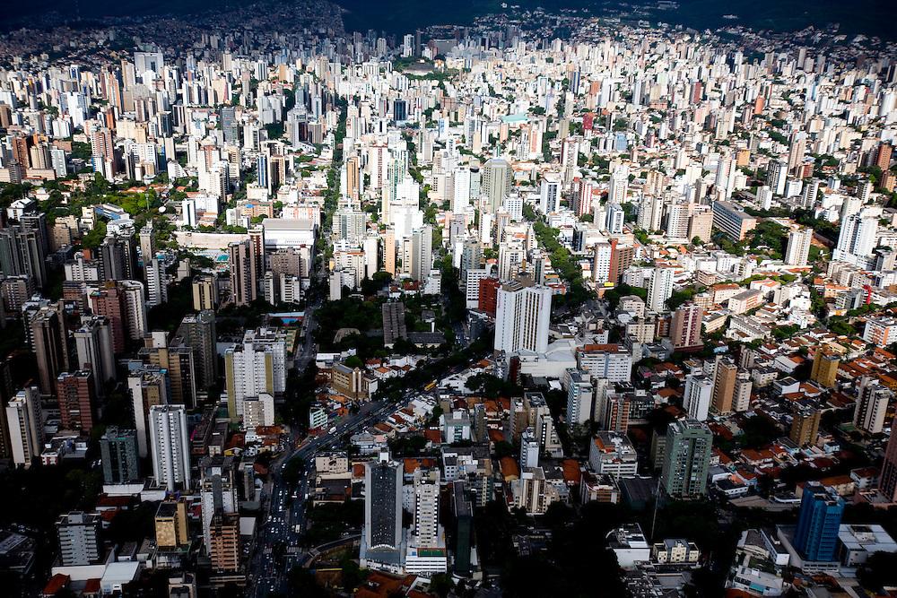 Belo Horizonte_MG, Brasil...Imagens aereas do centro de Belo Horizonte, Minas Gerais...Belo Horizonte aerial view, Minas Gerais. ..Foto: BRUNO MAGALHAES / NITRO