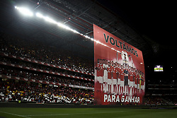 August 9, 2017 - Lisbon, Portugal - General view of the Luz stadium during the Portuguese League  football match between SL Benfica and SC Braga at Luz  Stadium in Lisbon on August 9, 2017. (Credit Image: © Carlos Costa/NurPhoto via ZUMA Press)