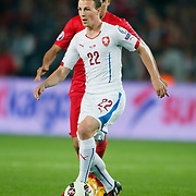Czech Republic's Vladimar Darida during their UEFA Euro 2016 qualification Group A soccer match Turkey betwen Czech Republic at Sukru Saracoglu stadium in Istanbul October 10, 2014. Photo by Aykut AKICI/TURKPIX