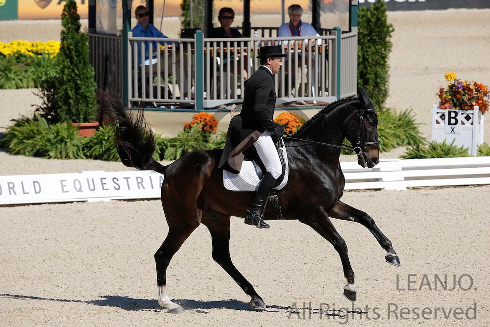 Graham Winn - Zorba<br /> Alltech FEI World Equestrian Games <br /> Lexington - Kentucky 2010<br /> © DigiShots