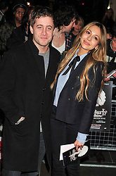 © under license to London News Pictures. 11/03/2011. Tyrone Wood and Zara Martin Attends the press night of The Hurly Burly Show at the Garrick Theatre London . Photo credit should read Alan Roxborough/LNP