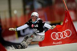 10-10-2010 SNOWBOARDEN: LG FIS WORLDCUP: LANDGRAAF<br /> First World Cup parallel slalom of the season / KROL Aleksandra POL<br /> ©2010-WWW.FOTOHOOGENDOORN.NL