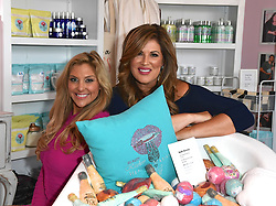 "Bravo television personalities Emily Simpson and Gina Kirschenheiter of ""The Real Housewives of Orange County"" host the grand opening of Beauty Kitchen Boutique with founder Heather Marianna. 03 Nov 2018 Pictured: Gina Kirschenheiter and Emily Simpson. Photo credit: MBS/MEGA TheMegaAgency.com +1 888 505 6342"